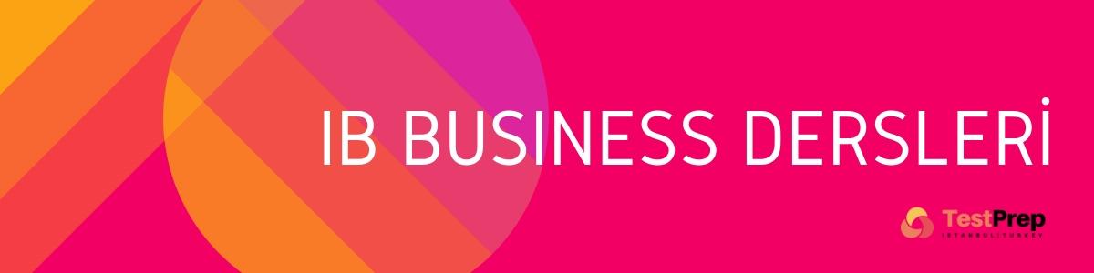 ib business management özel ders