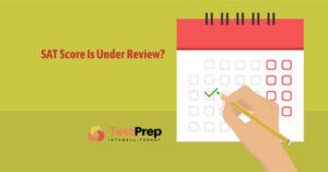 sat score under review